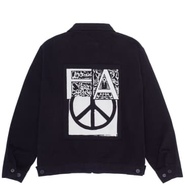 Fucking Awesome Peace Work Jacket - Black
