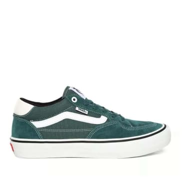 Vans Rowan Pro Skate Shoes - Pine / White