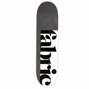 Fabric Skateboards 1734 (Black Stain) Skateboard Deck 8.625''