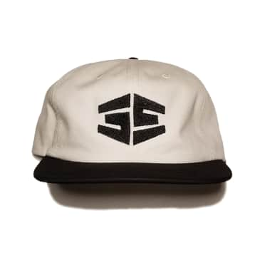 35th North Tron Snapback Hat - White / Black