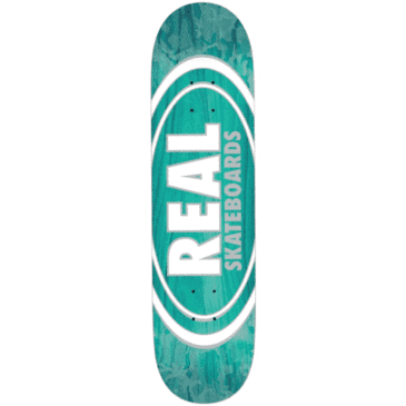 """Real Skateboards -Oval Pearl Patterns Team Series - 8.06"""""""