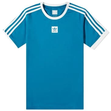 adidas Club Jersey T-Shirt - Active Teal / White