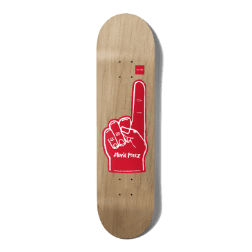 """Chocolate Number 1 One Off Stevie Perez Skateboard Deck - 8.5"""""""