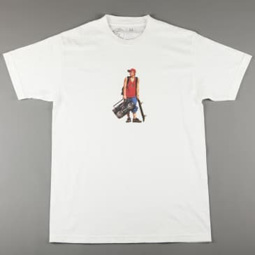 CSC 'Life's Too Shorty' T-Shirt (White)