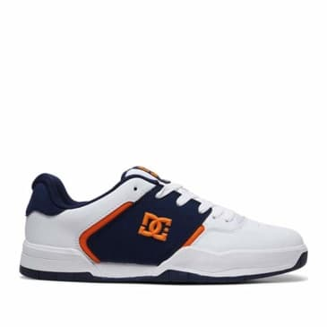 DC Central Skate Shoes - White / Navy