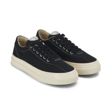Stepney Workers Club Dellow Mens Canvas Shoes - Black