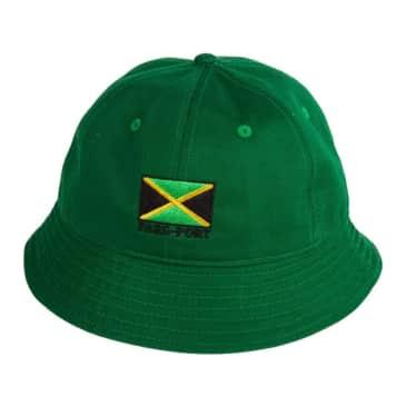 Pass~Port Jamaica Twill Bucket Hat - Green