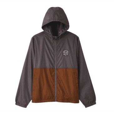 Claxton Crest Jacket | Charcoal/Copper