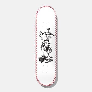 "Baker Kader Daydreams Skateboard Deck - 8.475"""