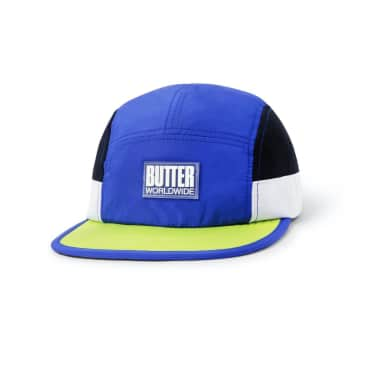 Butter Goods Marathon Camp Cap Royal / Lime