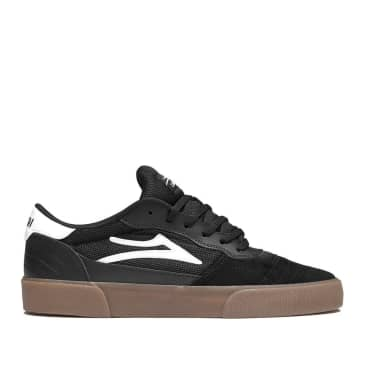 Lakai Cambridge Suede Skate Shoes - Black / Gum