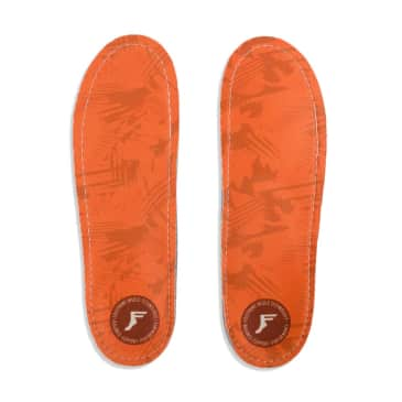Footprint Kingfoam Orthotic Insoles Orange Camo
