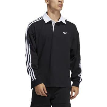 Adidas Solid Rugby Long Sleeve Jersey