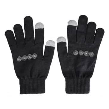 Independent Truck Co Chain Cross Gloves Black