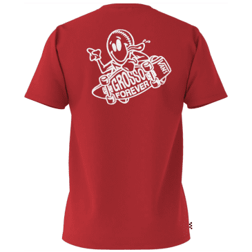 Vans Grosso Forever T-Shirt - Racing Red