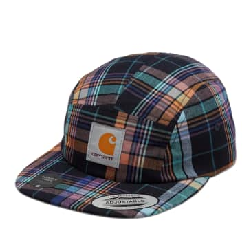 Carhartt WIP Vilay Check Cap - Dark Navy