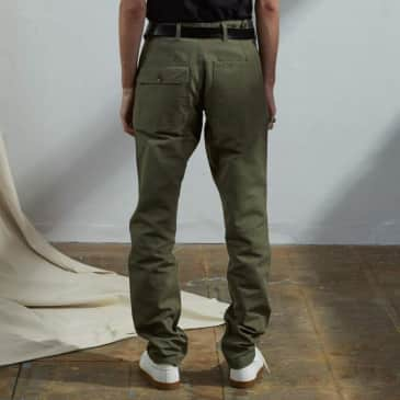 USKEES - Workwear pants Army green