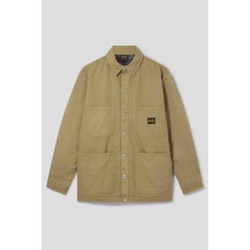 Stan Ray - Lined Barn Coat (Washed Brown Duck)