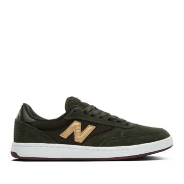 New Balance Numeric 440 Shoes - Olive / Gold