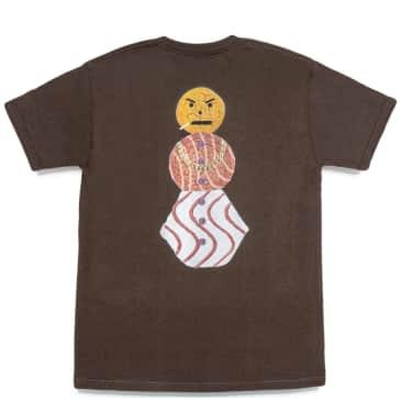 Quartersnacks Snackman T-Shirt - Chocolate
