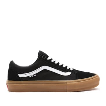 Vans Skate Old Skool Shoes - Black / Gum