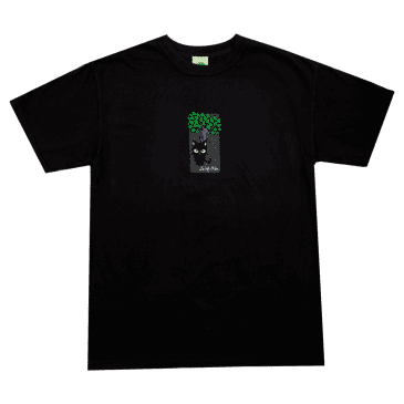 Frog Jesse Alba Spider Monkey Muffin T-Shirt - Black