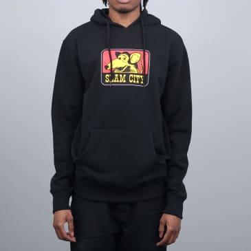 Slam City Skates Tougher Hoodie - Black