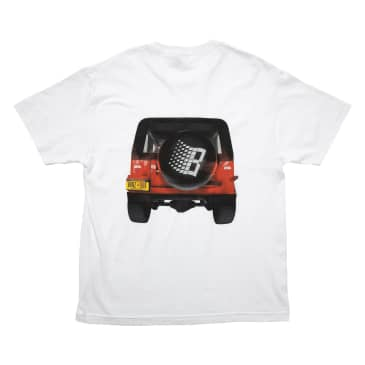 Bronze 56k Jeep T-Shirt - White