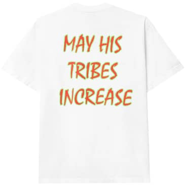 Powers Tribes Increase T-Shirt - White