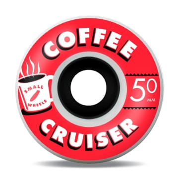 SML 50mm Coffee Cruisers 78a Wheels