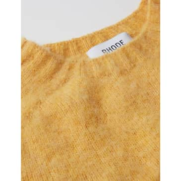 Bhode Supersoft Lambswool Jumper (Made in Scotland) - Marzipan