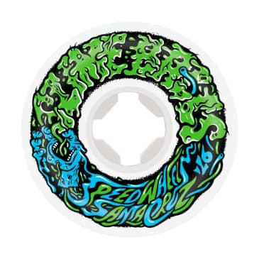 Santa Cruz Skateboards - Slime Balls Mini Vomits 97A White 54 MM