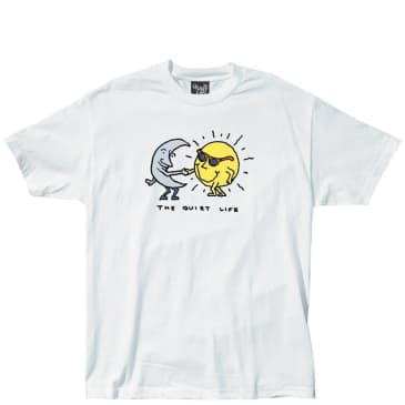 The Quiet Life Sun And Moon Standard T-Shirt - White