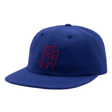 Fucking Awesome 6 Panel Hat Seduction Of The World Cobalt