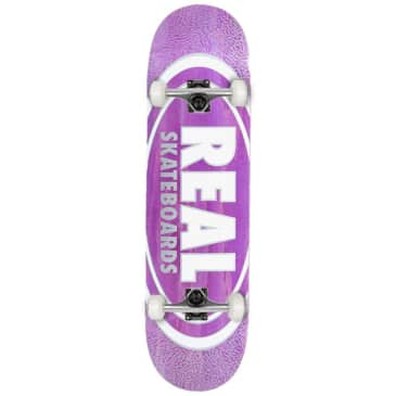 """Real - Team Oval Pearl - Complete Skateboard - 8.5"""""""