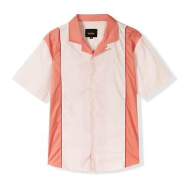 Butter Goods Cadwell Shirt - Cream-Peach