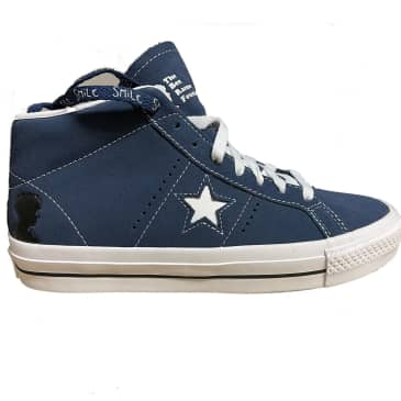 Cons One Star Pro Mid Ben Raemers Foundation (Slate Blue)