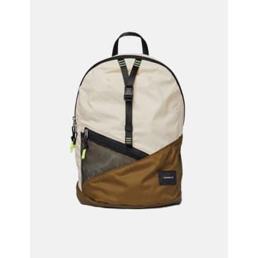 Sandqvist Erland Lightweight Backpack - Sand/Olive
