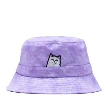 Ripndip Lord Nermal Bucket Hat - Lavender Mineral Wash