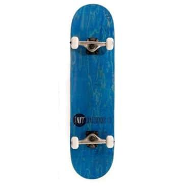 "Enuff Skateboards Logo Stain Complete Skateboard Blue 8"""
