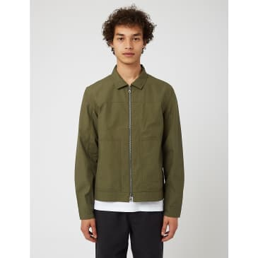 Folk Raft Jacket (Ripstop) - Olive