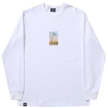 Hélas Monnaie Long Sleeve T-Shirt - White