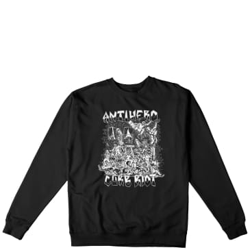 Antihero Curb Riot Crewneck - Black