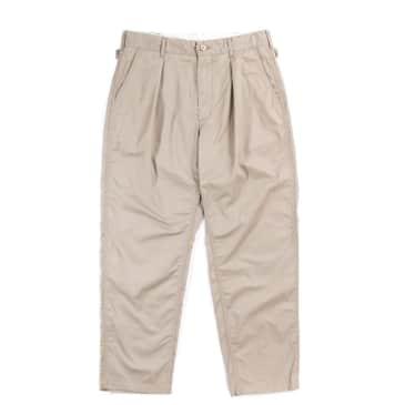 Engineered Garments Ground Pant Highcount Twill - Khaki