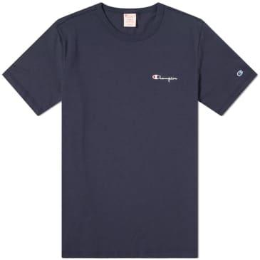 Champion Logo T-Shirt - Navy