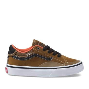 Vans x Anti Hero TNT Adv Proto Youth Skate Shoes - Army Green