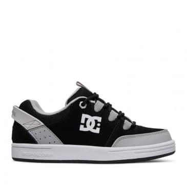 DC Syntax Skate Shoes (Kids) - Black / White / Armor