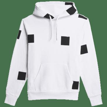 adidas Skateboarding Heavyweight Shmoofoil Box Hoodie - White / Black