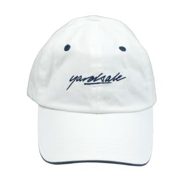 Yardsale Script Hat - White / Navy
