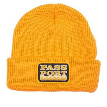 Pass~Port Auto Patch Beanie - Gold
